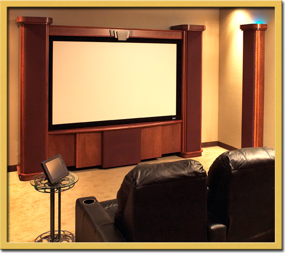 Home Theater Hideaways